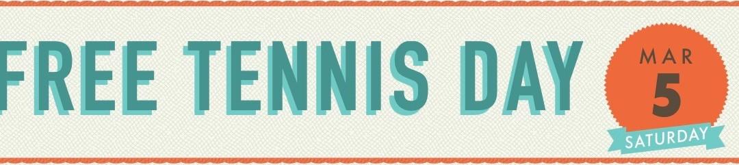 Free Tennis Day