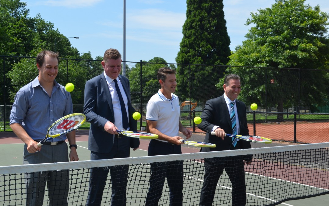 Opening Up Tennis Launch